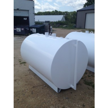 2000 Gallon Steel UL DW Tank. DEF Equipment MN, Vulcan Companies.