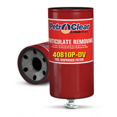Petro Clear 40810P-DV Fuel Dispensing Filter. Diesel Exhaust Fluid (DEF) Products from Vulcan Companies.