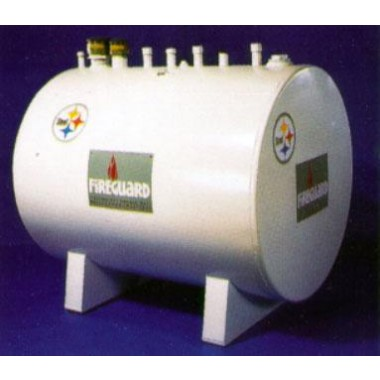 280 Gallon Fire Guard Gas Tank. Petroleum Parts Minnesota, Vulcan Companies.