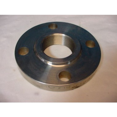 "New 2"" 150 Pipe threaded flange. B16.5 A/SA10182 F316/316L Stainless Steel."