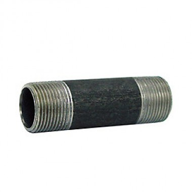 "3/4"" X 4"" Black Steel Pipe Nipple Left/Right from Vulcan Companies Minneapolis, MN"