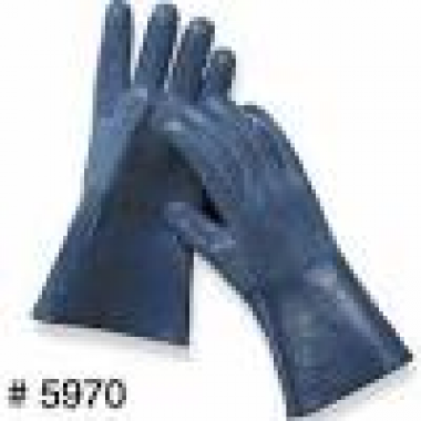 Nitrile Butyl Rubber (NBR) Coated Gloves, Insulated, 12 Inch. DEF Equipment from Vulcan Companies.