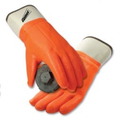 Insulated PVC Coated Gloves, Safety Cuff. Petroleum parts and Diesel Exhaust Fluid (DEF) compatible equipment from Vulcan Companies.