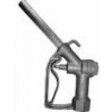 "1"" Manual Unleaded Farm Utility Nozzle with Hook. DEF and petroleum parts from Vulcan Companies."