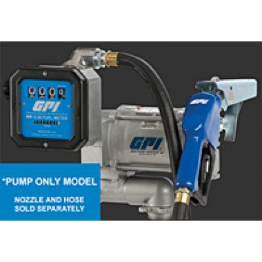Diesel Transfer Pump With Meter 20 GPM. DEF Equipment MN, Vulcan Companies.