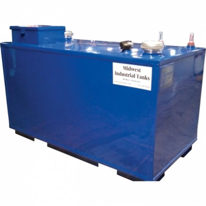 250 Gallon Steel Waste Oil DW Tank (Midwest Industrial Tanks)