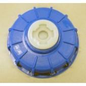 "6"" Blue IBC Cap with 2"" Buttress Plug. Diesel Exhaust Fluid (DEF) Equipment MN, Vulcan Companies."