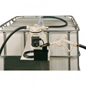 PUISI 115 VAC DEF Pump with Tote Hanger from Vulcan Companies, Minnesota.