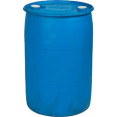 Reconditioned 55-gallon poly drum