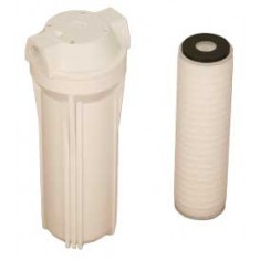 """Def Filter Assy 3/4"""" Housing 1 Micron Element , Viton Seal And Filter Wrench"""