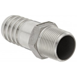 Banjo Stainless Steel 316 Hose Fitting Adapter NPT Male Barbed from Vulcan Companies Minneapolis, MN.