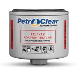 "Petro-Clear TC 1-2 3/4"" Adaptor Test Cap. Petroleum Parts from Vulcan Companies."