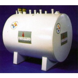 1000 Gallon Fire Guard Gas Tank. DEF Equipment Minnesota, Vulcan Companies.