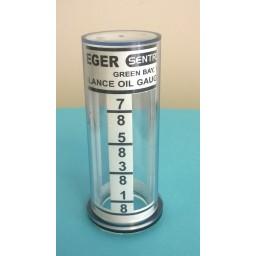Krueger Sentry D Style At-A-Glance Gauge - Glass Only. Petroleum Parts from Vulcan Companies.