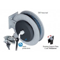 Diesel Exhaust Fluid (DEF) Stainless Steel Hose Reel 25' from Vulcan Companies Minneapolis, MN.